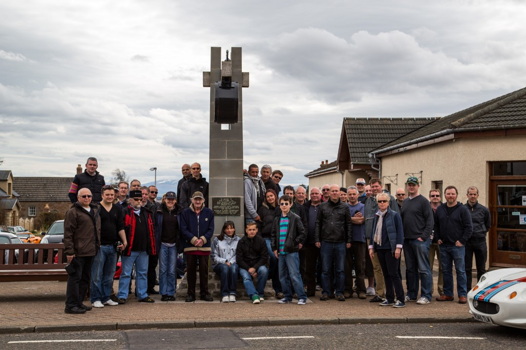 Chirnside Memorial Clock Tower Group Photo